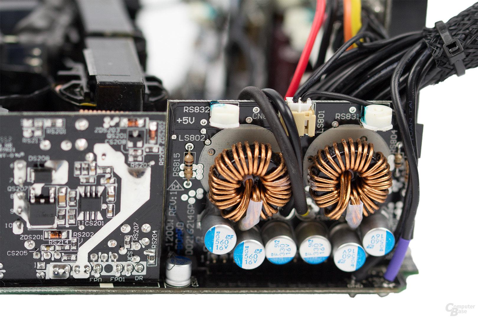 be quiet! Dark Power Pro 11 850W – DC-DC-Module