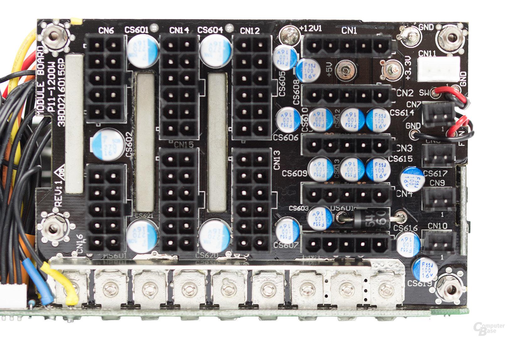 be quiet! Dark Power Pro 11 850W – Anschlussplatine