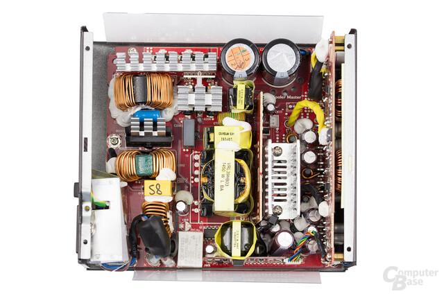 Cooler Master V850 – Überblick Elektronik