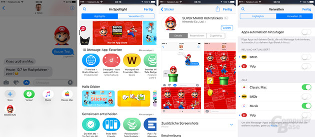 App Store für iMessage