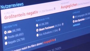Steam-Nutzerreviews: Valve ergreift Maßnahmen gegen gefälschte Bewertungen