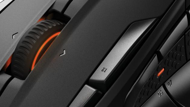 SteelSeries Rival 500: MOBA-Maus mit 15 Tasten vibriert auf Wunsch