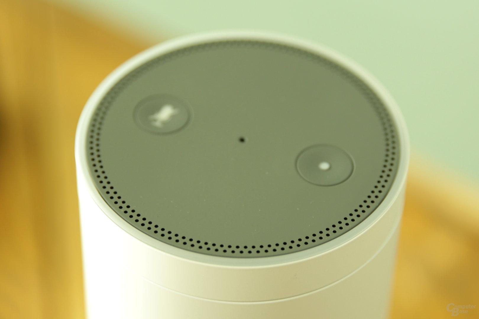 Amazon Echo – Oberseite