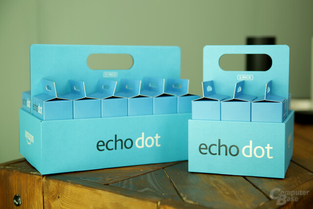 Amazon Echo Dot im Six- und Twelve-Pack
