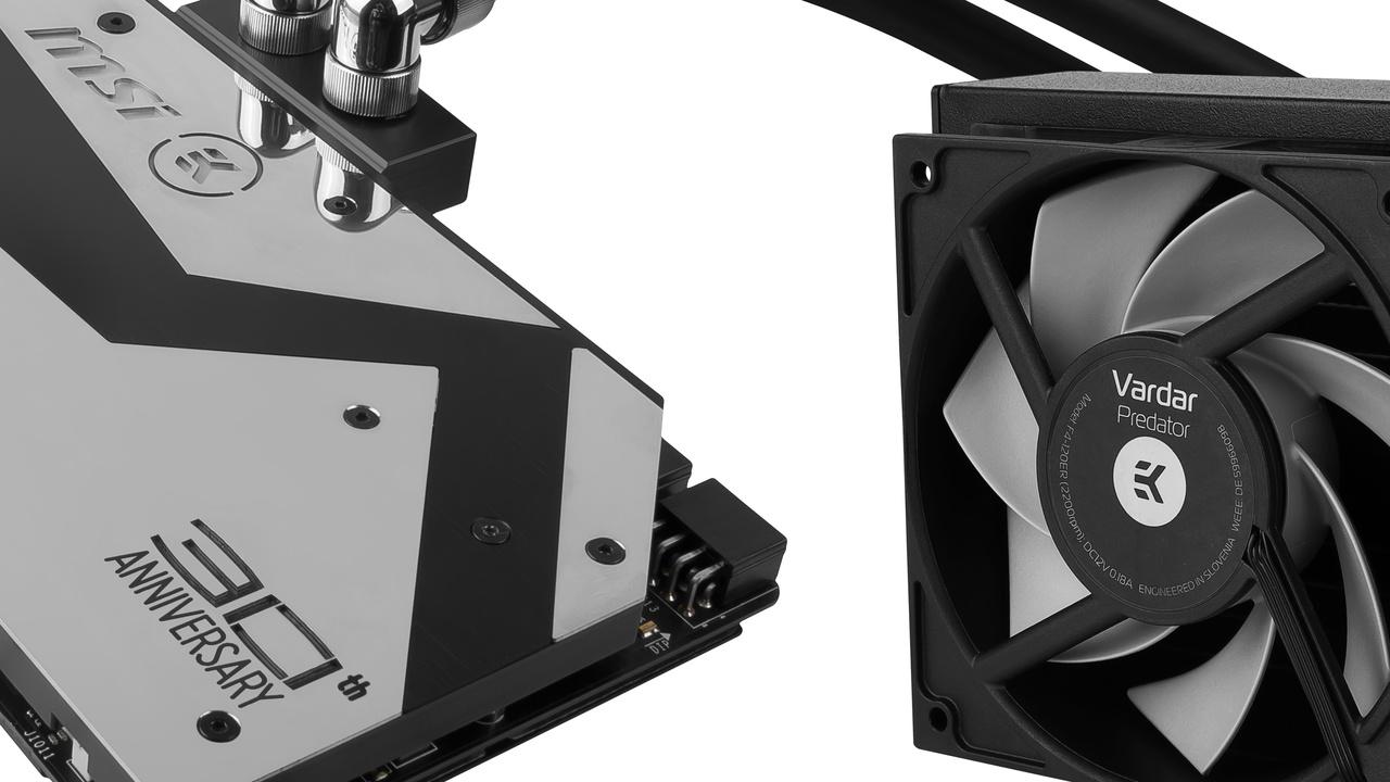 MSI 30th Anniversary: Limitierte GTX 1080 mit AiO von EK Water Blocks