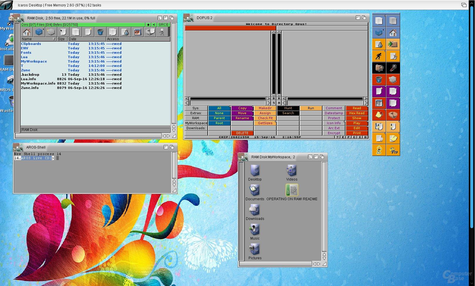 Icaros Desktop