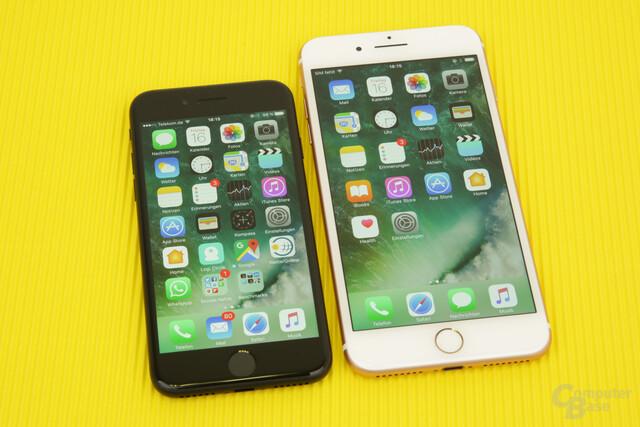 Apple iPhone 7 und iPhone 7 Plus