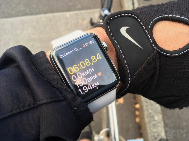 Fitness-Tracking mit integriertem GPS und Pulsmesser (ohne iPhone)