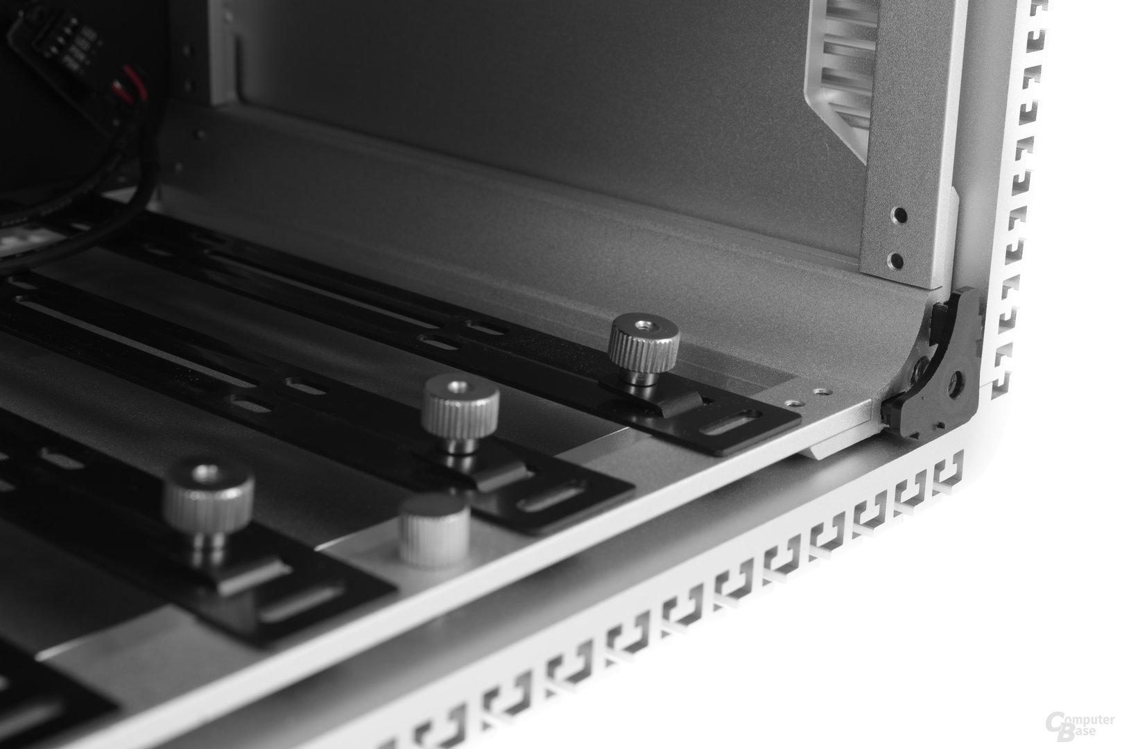 Streacom DB4 – Halterungen für Festplatten