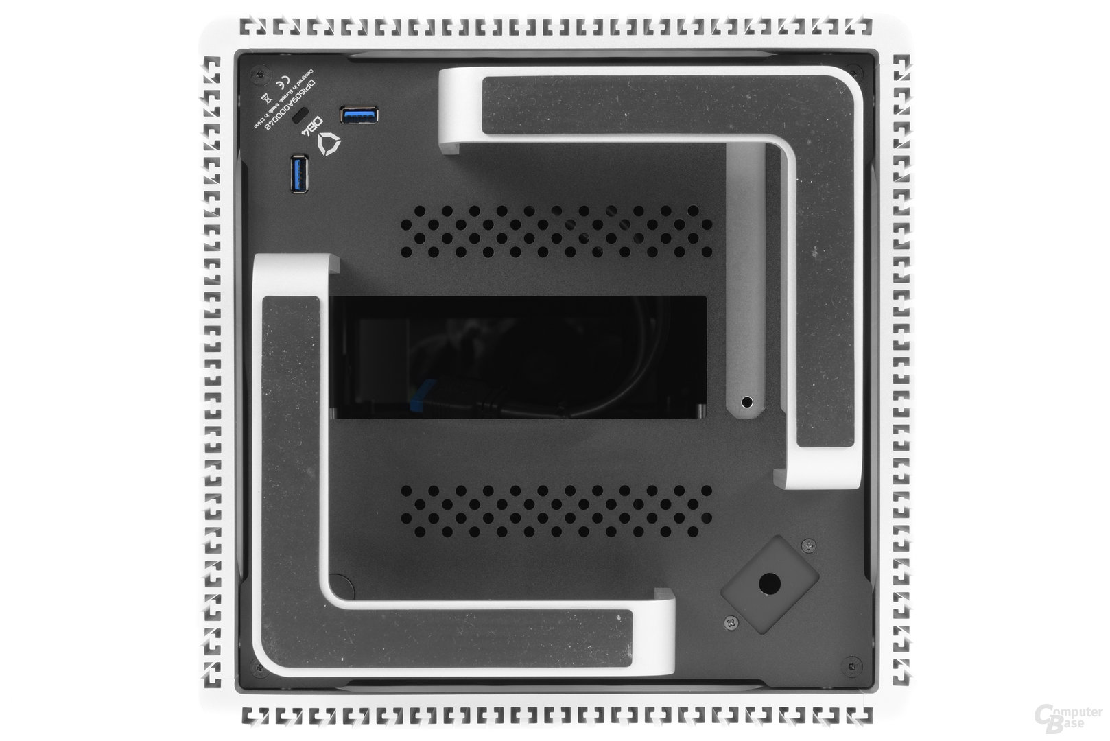 Streacom DB4 – Untersicht