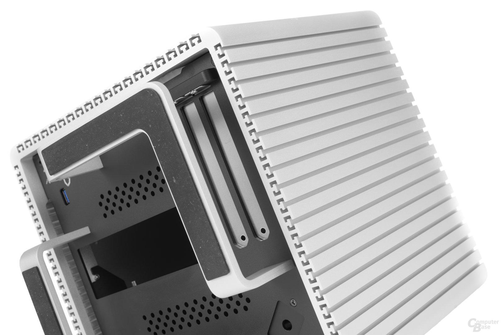 Streacom DB4 – Slots der Erweiterungskarten
