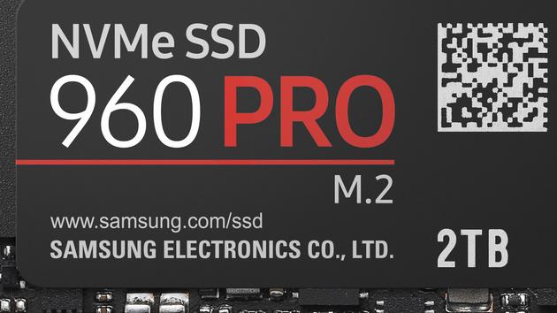960 Pro: Samsungs Flaggschiff mit bis zu 2TByte und 1,2PBTBW