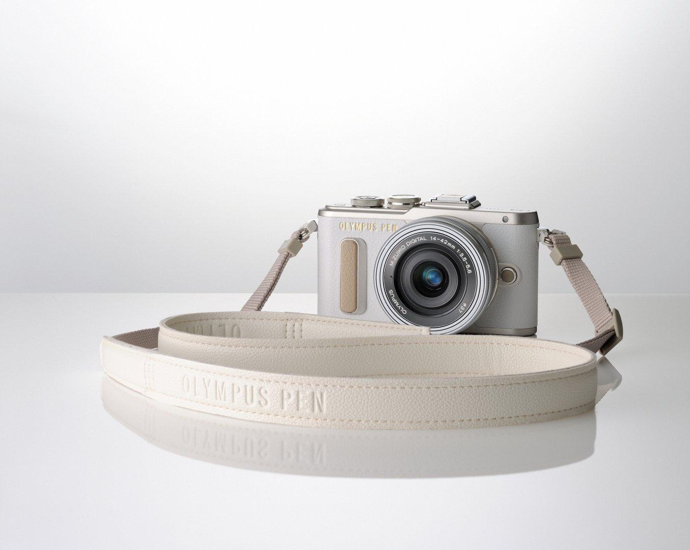 PEN_E-PL8_EZ-M1442EZ_strap_white_silver__ProductAdd_001