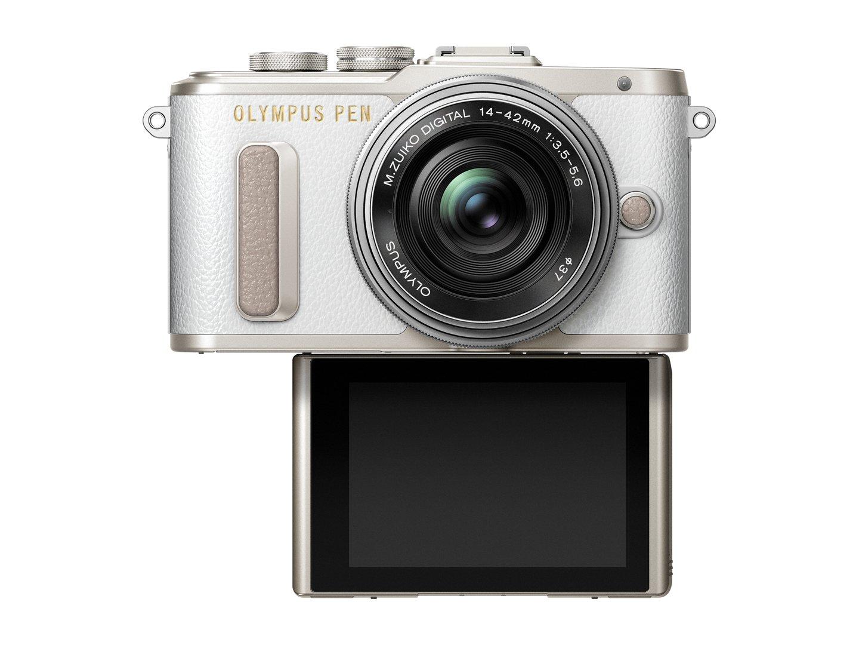 PEN_E-PL8_EZ-M1442EZ_white_silver__Product_001