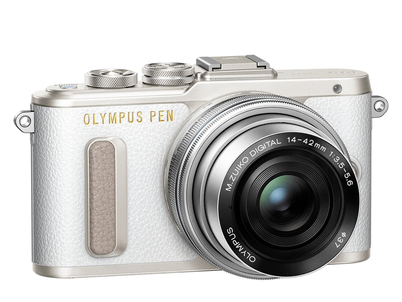 PEN_E-PL8_EZ-M1442EZ_white_silver__Product_351