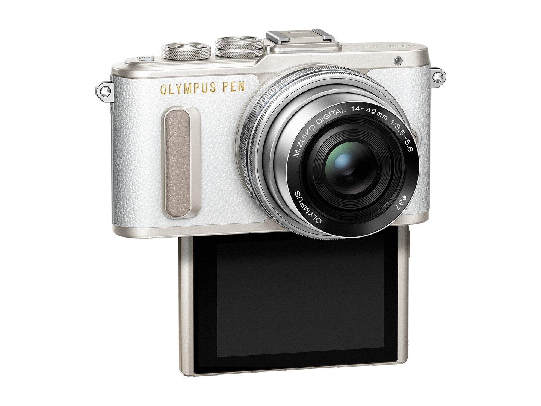 PEN_E-PL8_EZ-M1442EZ_white_silver__Product_352