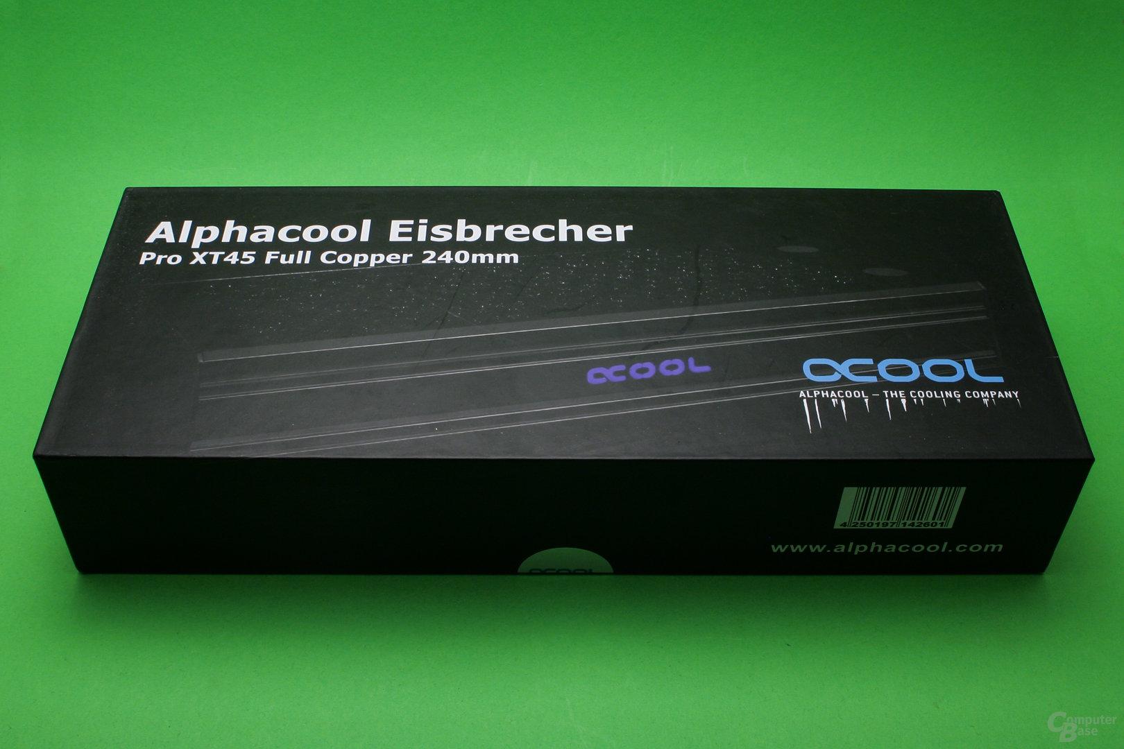 Alphacool Eisbrecher 240: Verpackung