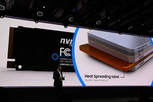 Kupferschicht im Aufkleber leitet Wärme schneller ab
