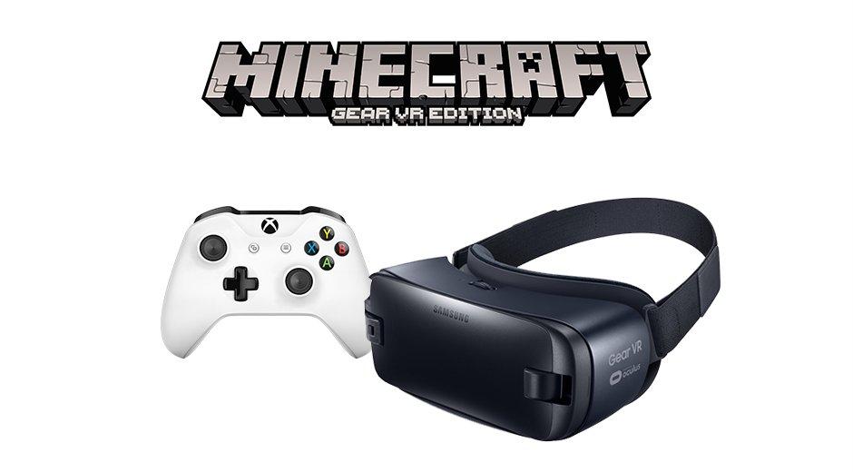 Xbox Wireless Controller und Samsung Gear VR