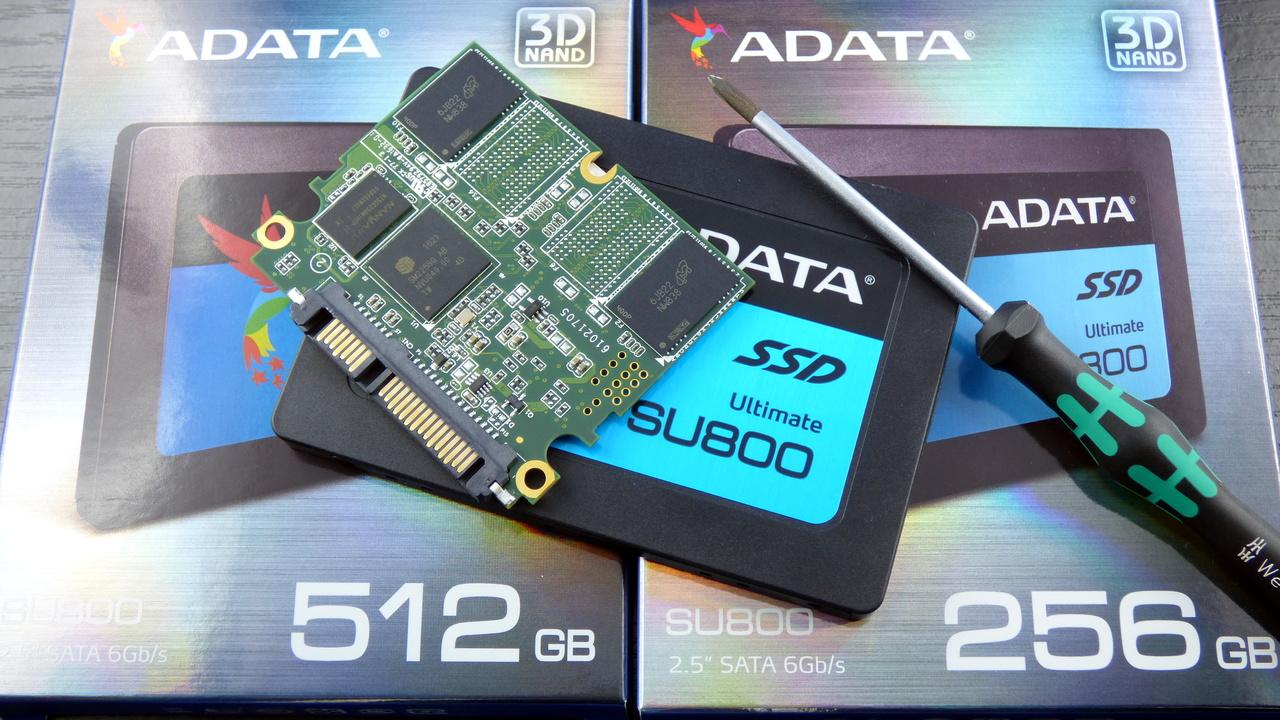 Adata Ultimate SU800 SSD im Test: Mit gleichem 3D-NAND schneller als die MX300