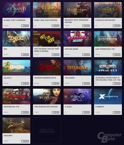 GoG spendiert eine DRM-freie Version ausgesuchter Steam-Titel