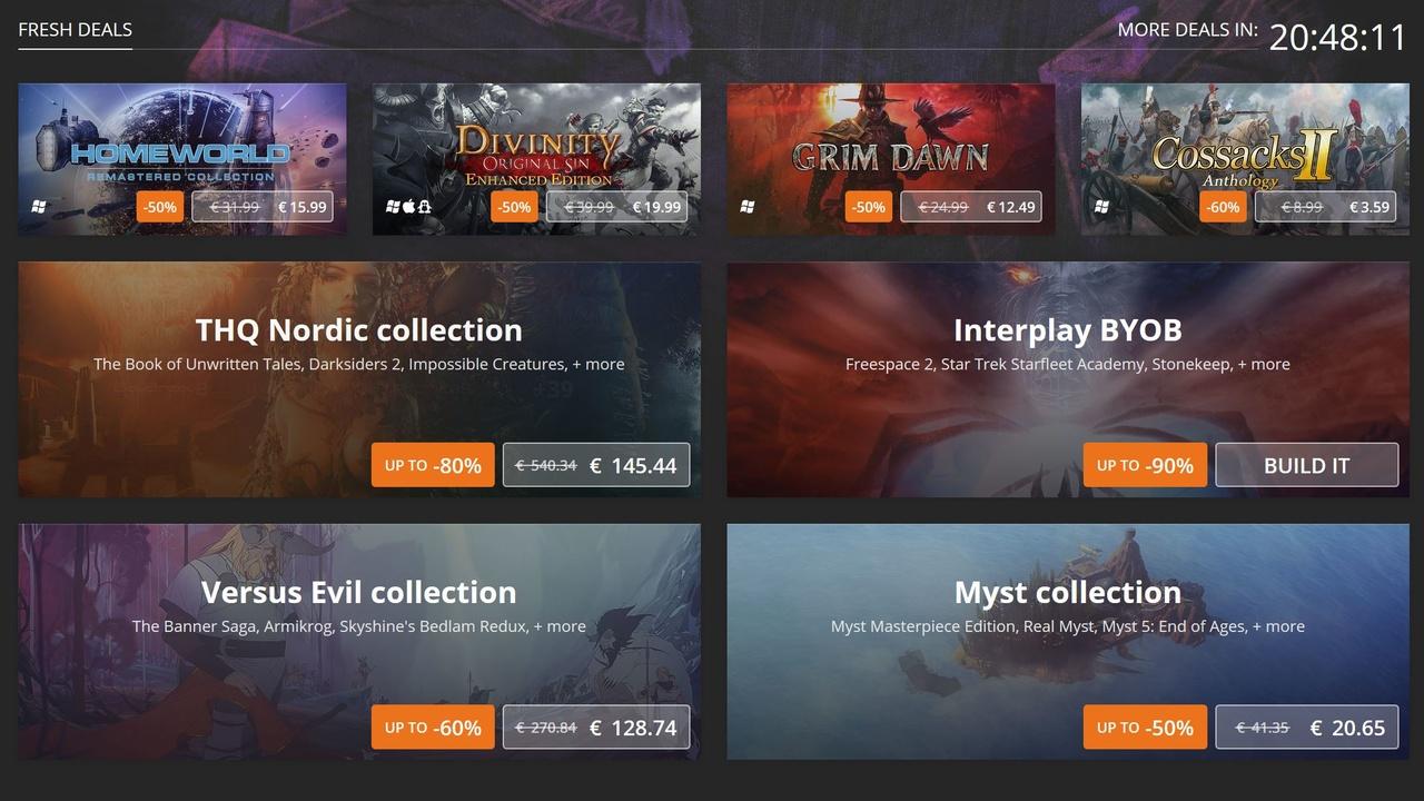 GoG: Rabatte und neue Spiele im Back to School Sale