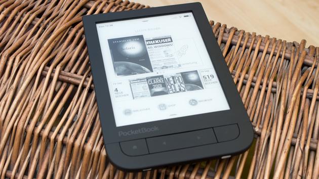 PocketBook Touch HD im Test: Dank neuem Display besser als Amazons Kindle