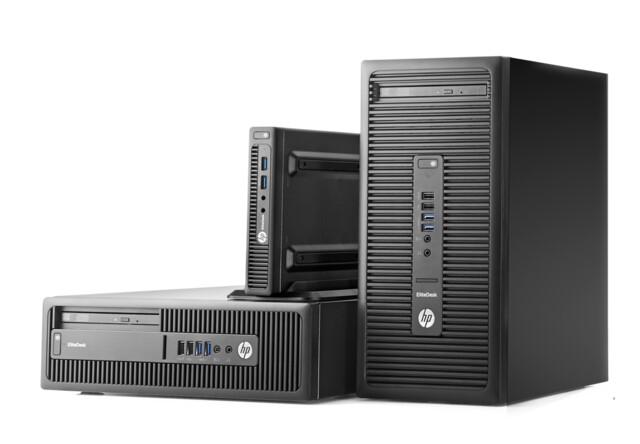 HP Elitedesk 705 G3 mit 7th Gen AMD Pro in drei Größen