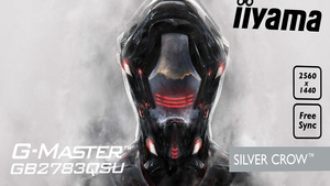 """G-Master 'Silver Crow': 27""""-Monitor mit FreeSync und WQHD für Spieler"""