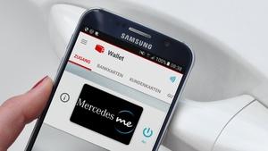 Mercedes-Benz: Das Smartphone wird mit NFC-SIM zum Autoschlüssel