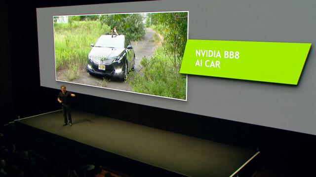 Nvidias eigenes Forschungsfahrzeug heißt BB8