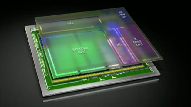 Nvidia Xavier: SoC mit Volta und HDR für autonome Autos