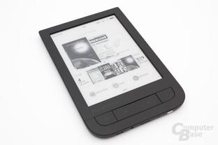 Übersichtsseite des PocketBook Touch HD