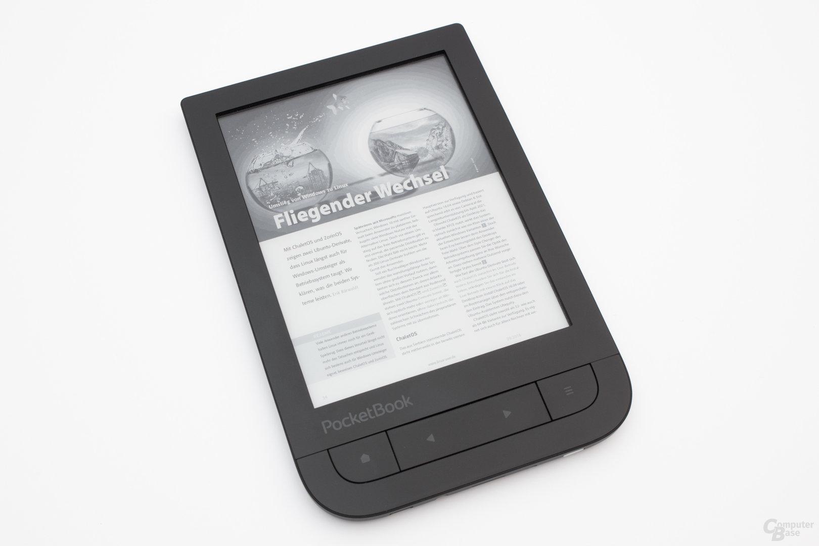 PDF-Darstellung auf dem PocketBook Touch HD