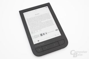 Texteinstellungen beim PocketBook Touch HD