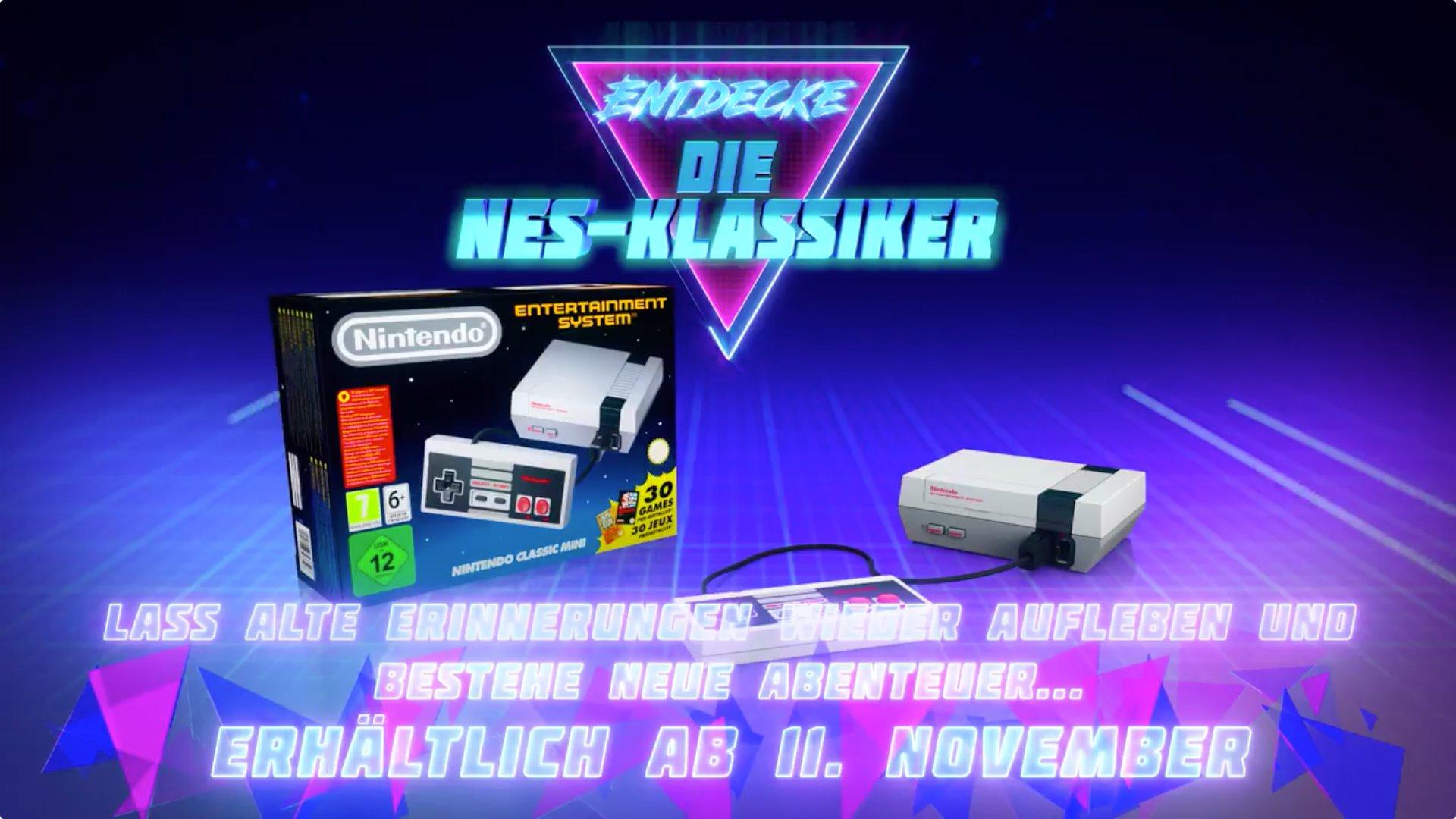 Der Nintendo Classic Mini