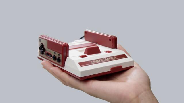 Der neue Nintendo Famicom Mini für Japan