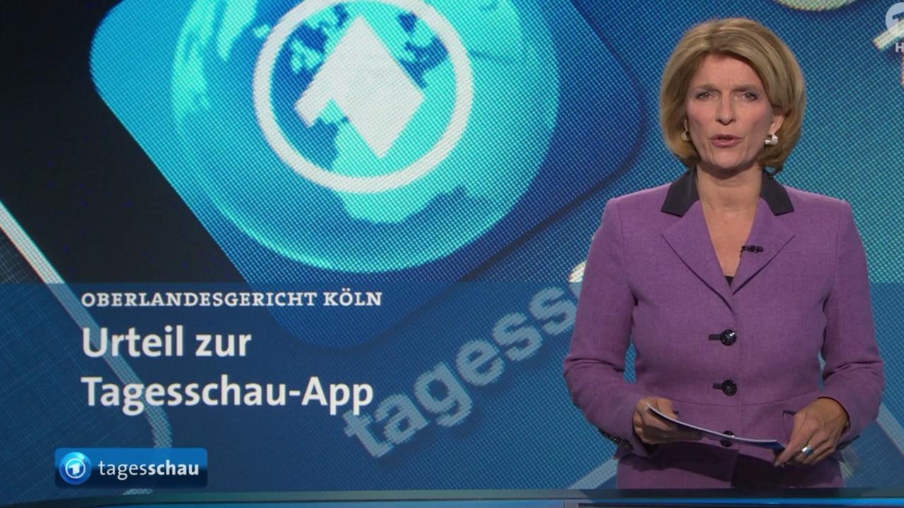 OLG Köln: Tagesschau-App war in alter Form unzulässig