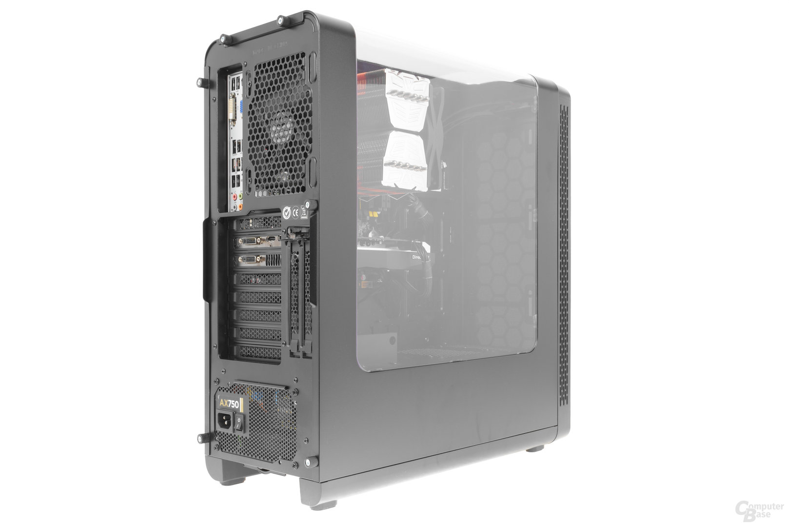 Thermaltake View 27 Gull-Wing – Testsystem