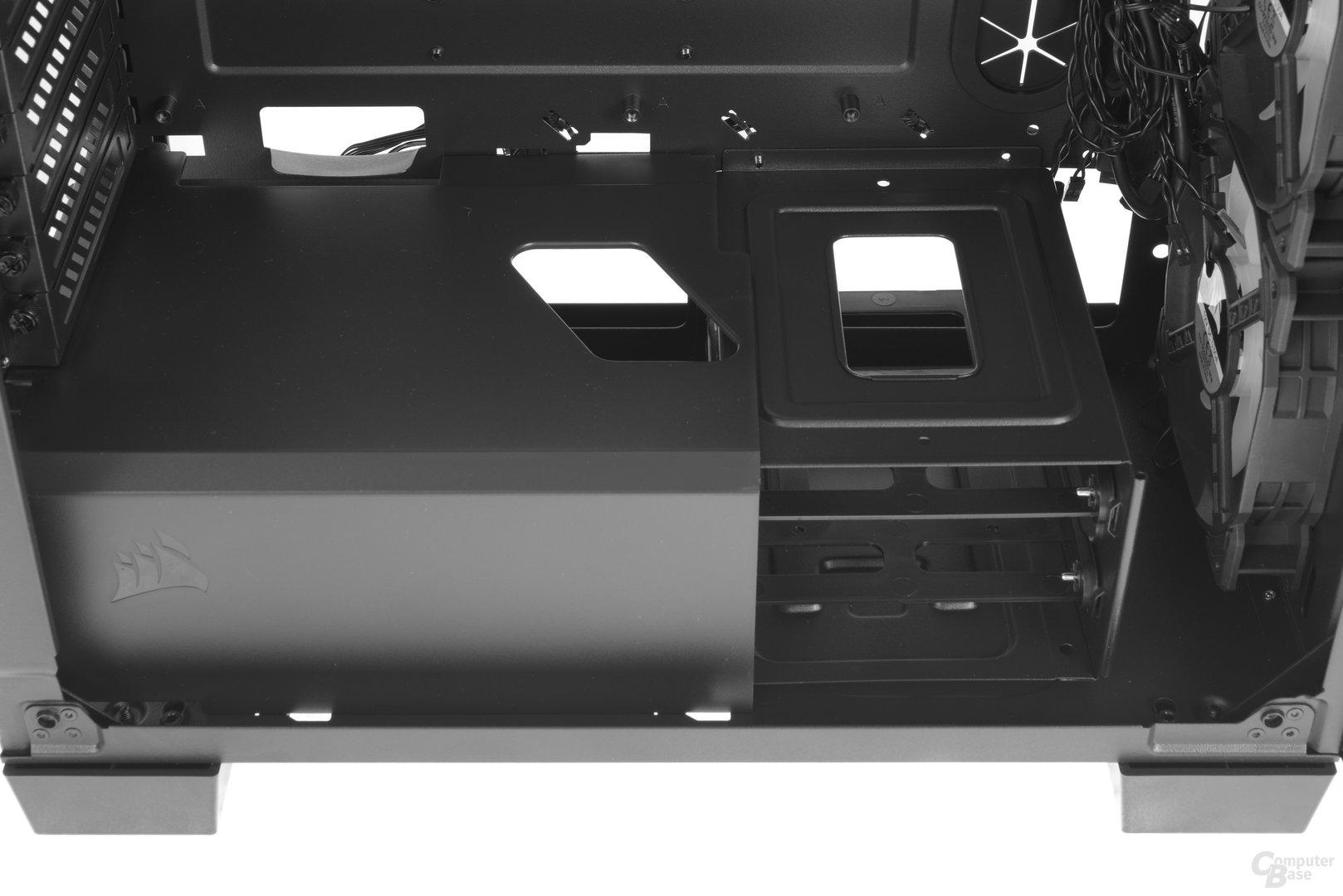 Corsair Crystal 460X RGB – Raumteiler teilentfernt