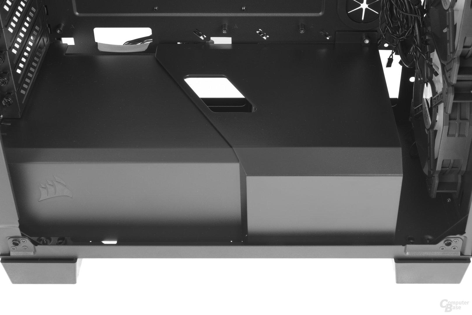 Corsair Crystal 460X RGB – Raumteiler im Detail