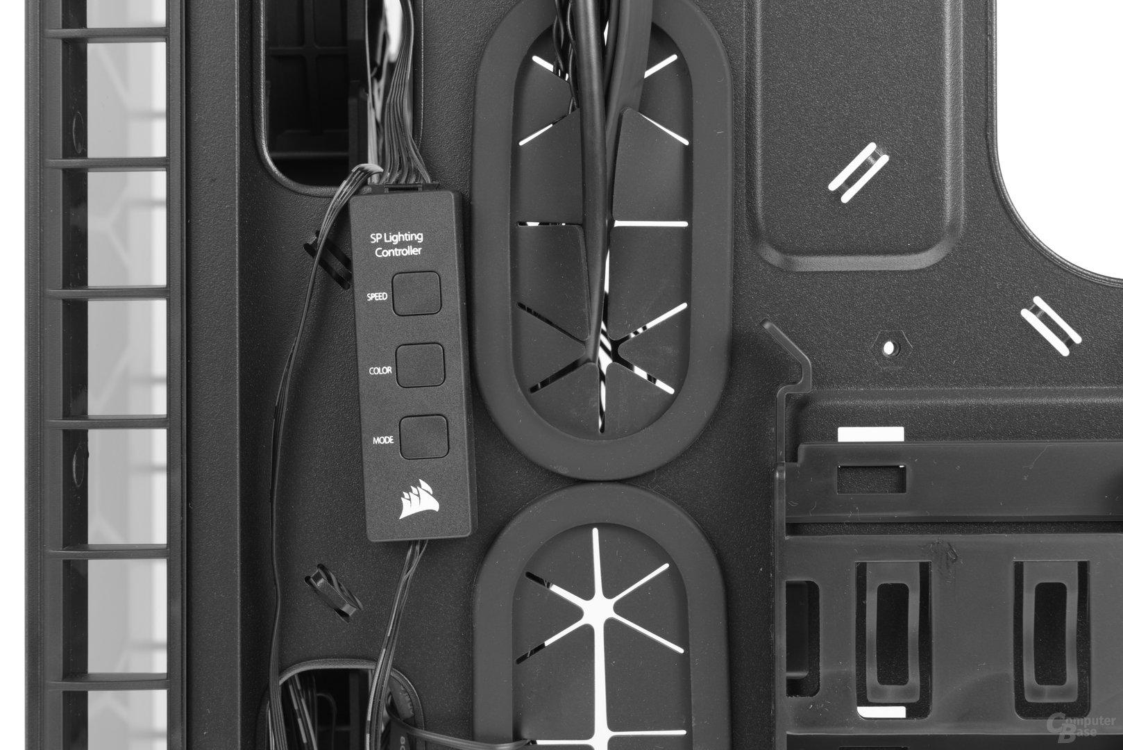 Corsair Crystal 460X RGB – Bauteil der LED-Steuerung