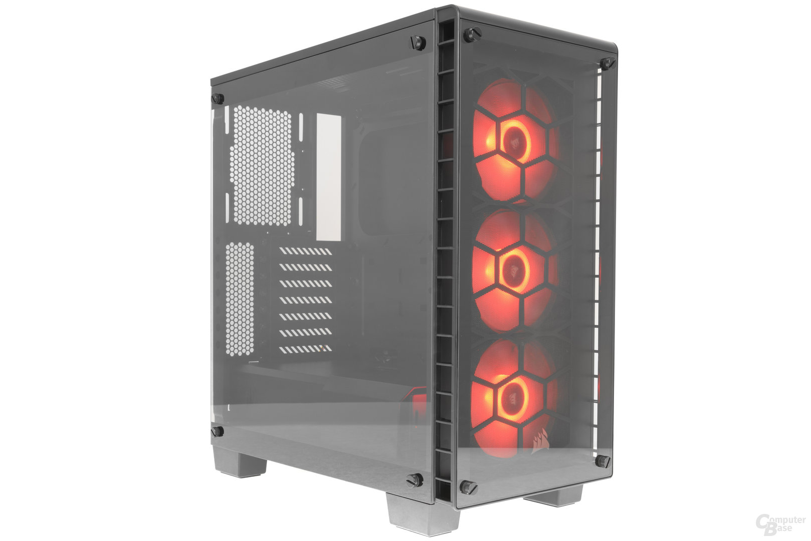 Corsair Crystal 460X RGB – LED-Beleuchtung aktiv