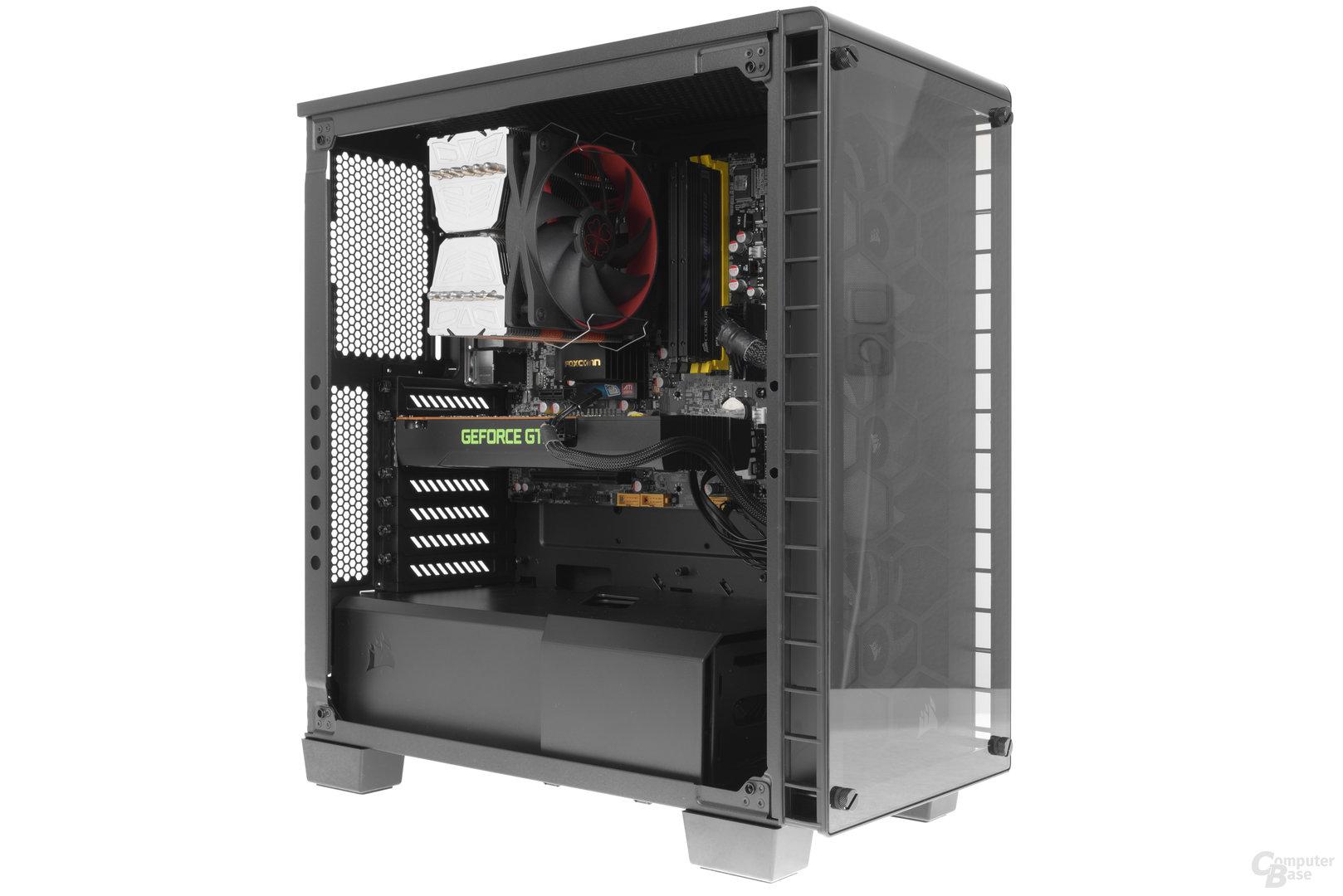 Corsair Crystal 460X RGB – Testsystem