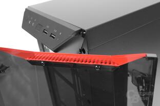 CoolerMaster MasterBox Lite 5 – Befestigung der Zierleisten