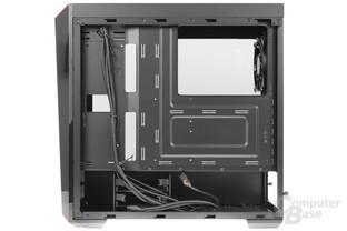 CoolerMaster MasterBox Lite 5 – Innenraumansicht Rückseite