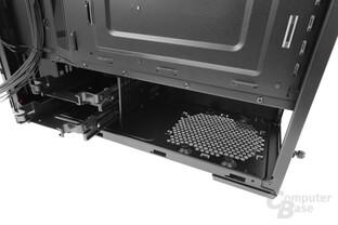"""CoolerMaster MasterBox Lite 5 – Versteckter Festplattenkäfig für zwei 2,5""""- oder 3,5""""-Festplatten"""
