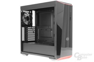 CoolerMaster MasterBox Lite 5 – Seitliche Innenraumansicht