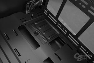 """CoolerMaster MasterBox Lite 5 – 2,5""""-SSD-Bracket im Innenraum"""