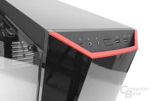 CoolerMaster MasterBox Lite 5 – Das Frontpanel ist gut in das Gesamtbild eingefügt
